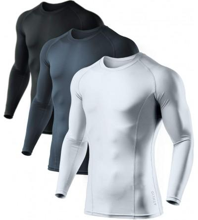 ATHLIO Compression Baselayer Athletic T Shirts
