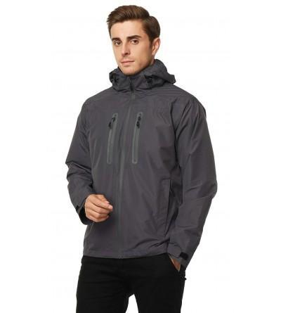 MIER Jackets Waterproof Hideaway Front Zip