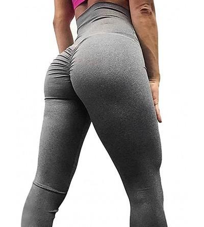 AGROSTE Scrunch Workout Stretchy Leggings
