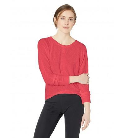 Splendid Womens Activewear Workout Pullover
