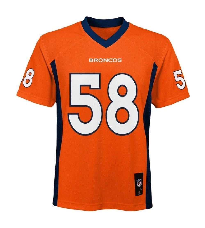 2018 Miller Youth Jersey Orange