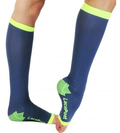Lace Poet Knee High Compression Toeless