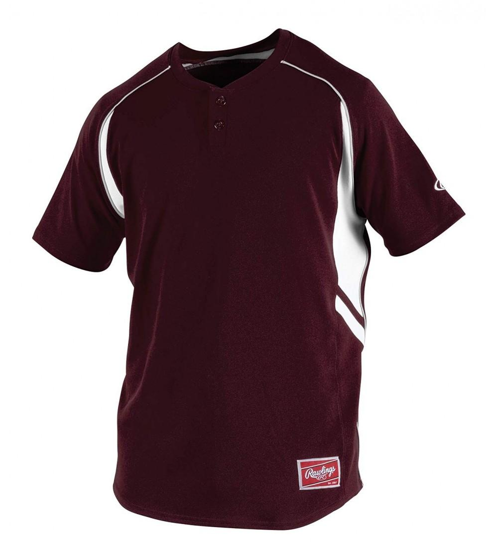 Rawlings YROAD B 88 Parent Youth 2 Button Jersey