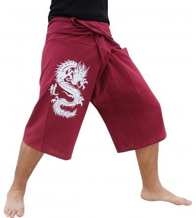 RaanPahMuang Fisherman Pants Cotton Dragon