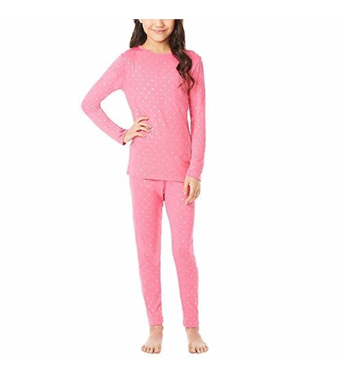32 DEGREES Weatherproof Big Girls Base Layer Thermal Shirt Long Underwear Set