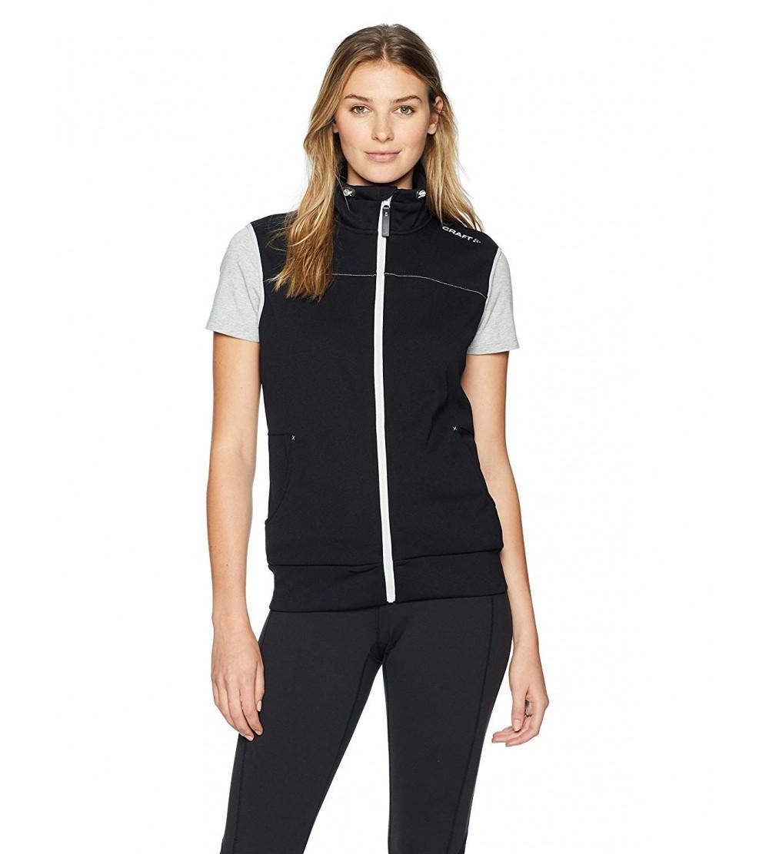 Craft Sportswear Womens Leisure Casual Training Sportswear Vest with Pockets