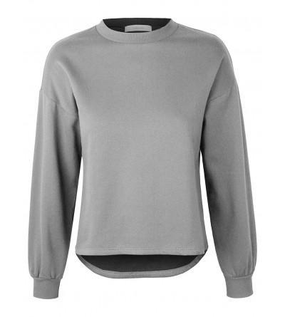 makeitmint Womens Oversized Sweatshirt YIL0020 HGRAY MED