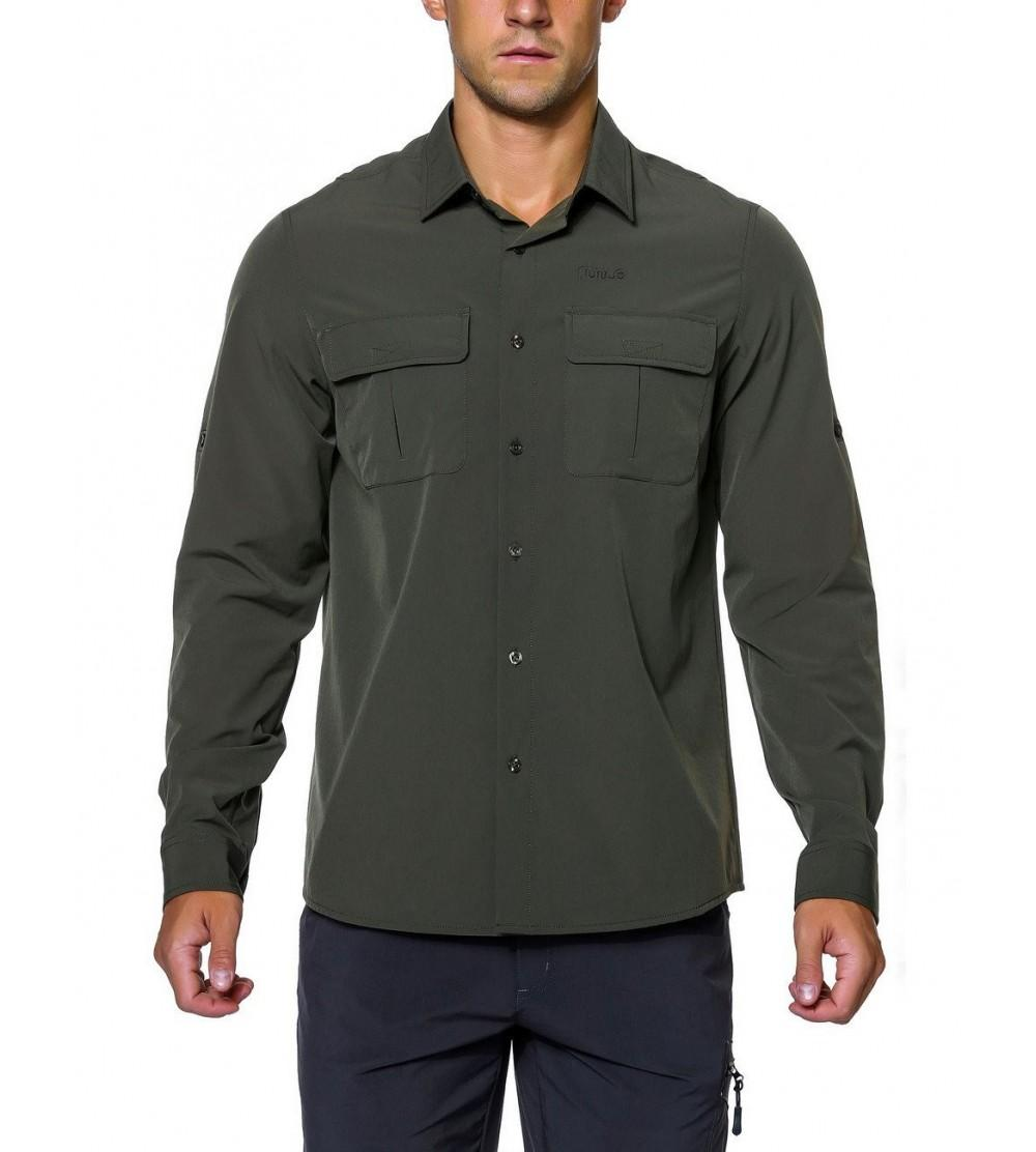 Nonwe Hiking Camping Shirts Roll up