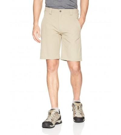 White Sierra Golden Stretch Shorts