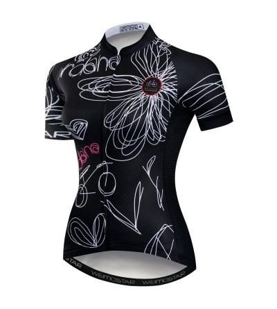 Cycling Jersey Sleeve Breathable Pockets