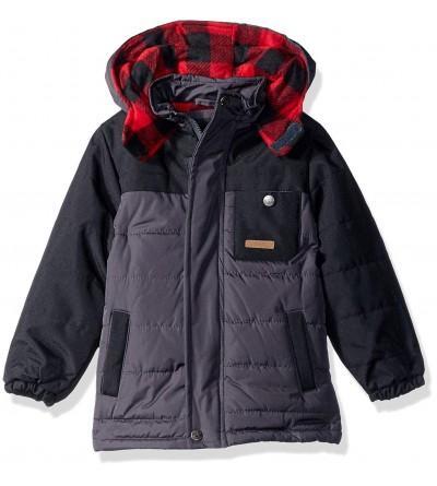 iXtreme Buffalo Check Puffer Jacket
