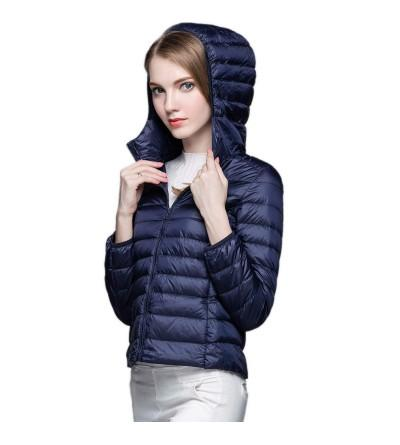KIWI RATA Womens Hooded Packable