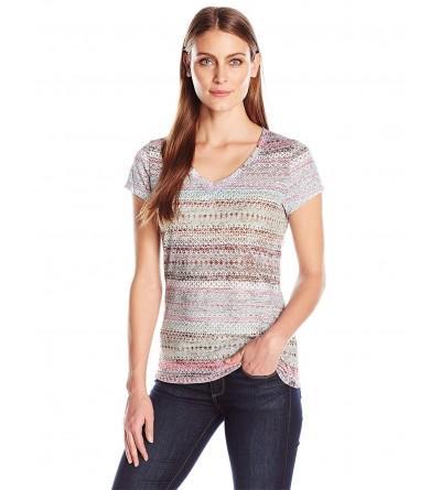 PRANA Womens Sleeve Portfolio T Shirt