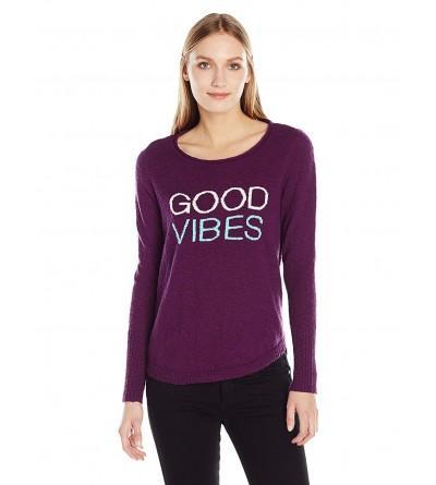 Life Good Womens Vibes Sweater