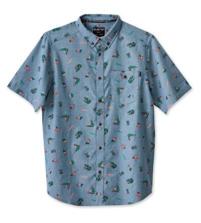 KAVU Mens Juan Button Shirts