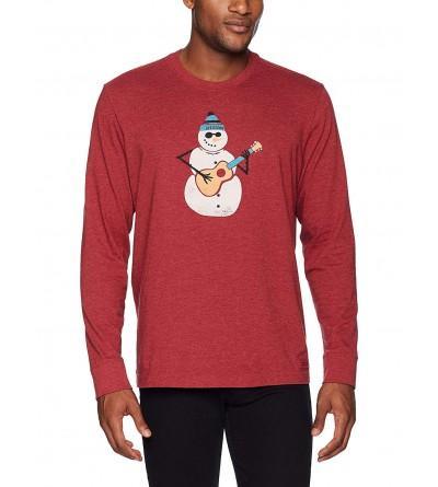 Life Good Crusher Jamming Snowman