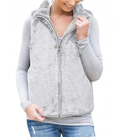 Womens Vests Outerwear Sleeveless Cardigan