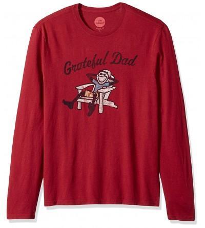 Life Good Sleeve Grateful T Shirt