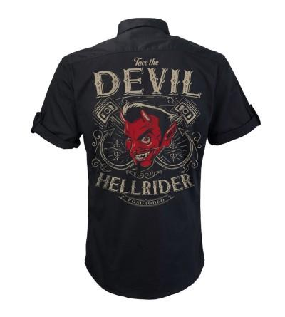Rockabilly Mechanic Shirt Hellride S 4XL