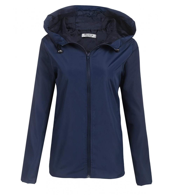 Beyove Waterproof Lightweight Outdoor Raincoat