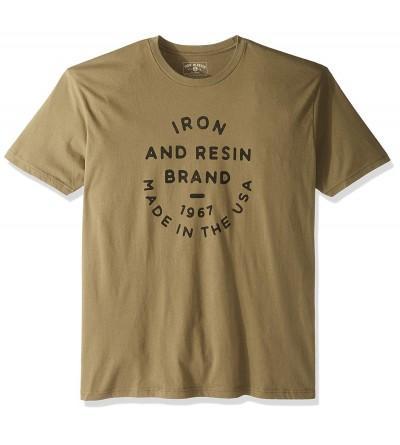 Iron Resin Brand Circle Tee