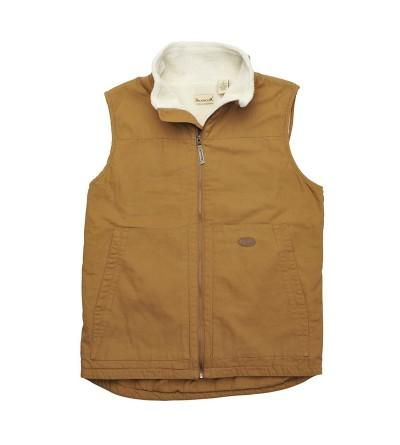 Backpacker Mens Canvas Vest