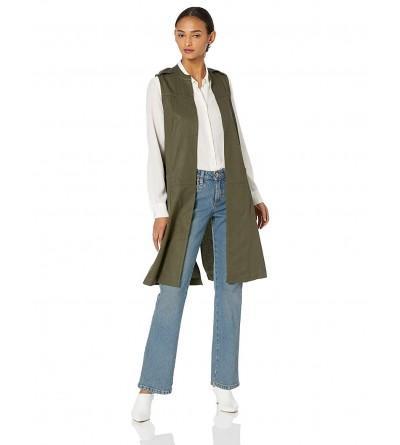 BCBGeneration Womens Utility Long Vest