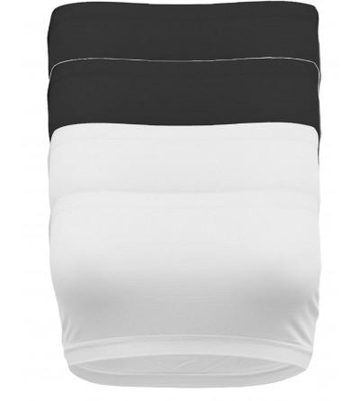 Womens Strapless Seamless Active Bandeau