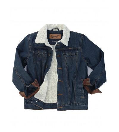 Wrangler Boys Lined Denim Jacket