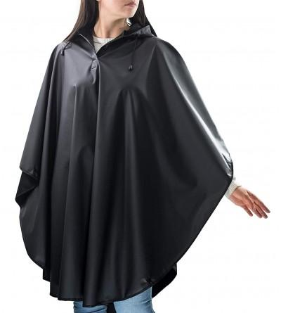 Rain Poncho Adults Reusable Waterproof