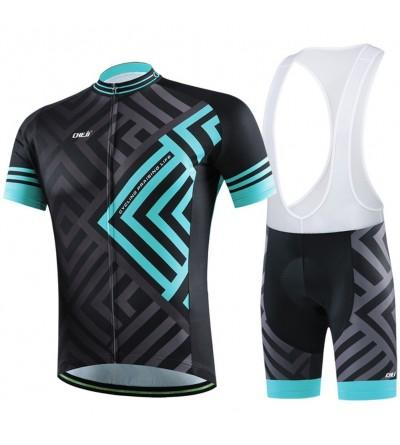 LSERVER Quick Dry Breathable Cycling Jersery