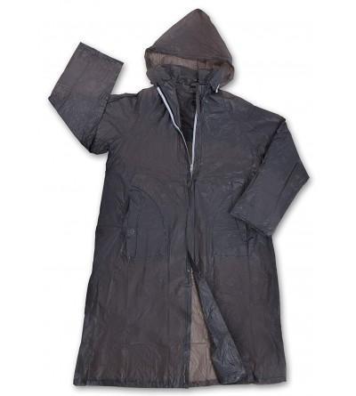 Stansport Mens Vinyl Raincoat Hood