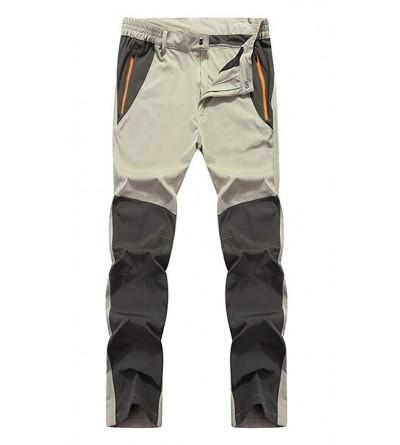 Amoystyle Water Resistant Lightweight Outdoor Pants