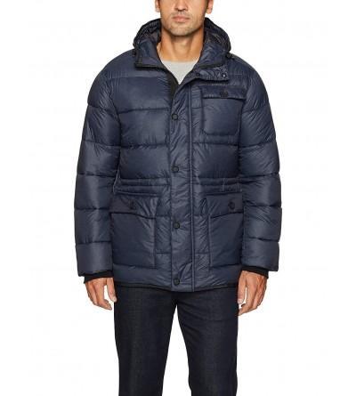 Hawke Co Hooded Puffer Jacket