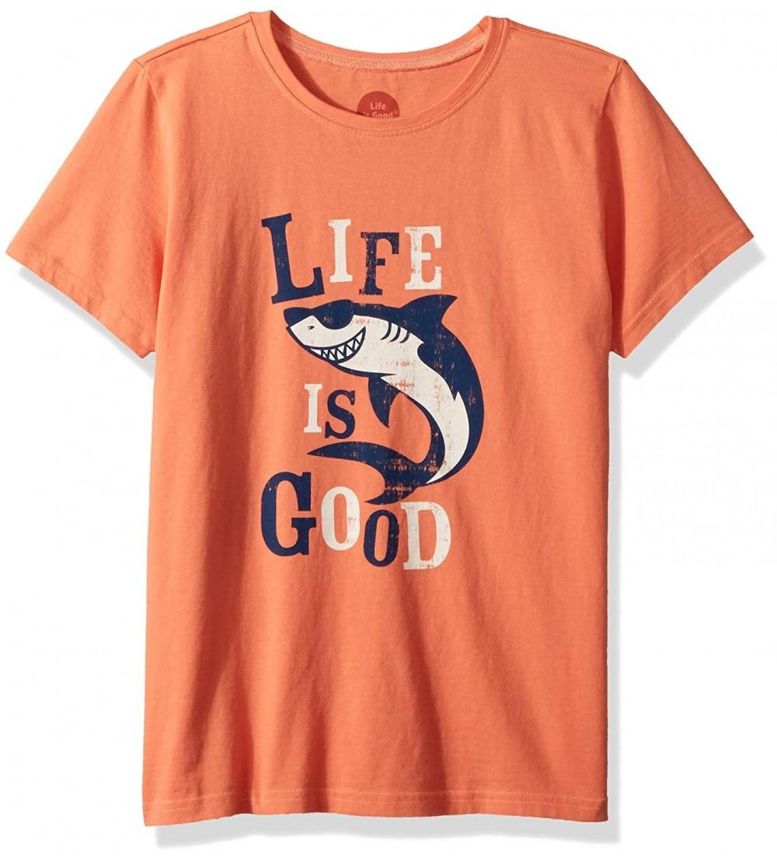 Life Good Boys Crusher Shark