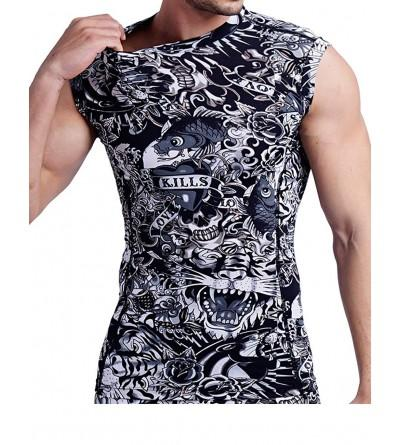 ARMEDES Compression Baselayer Sleeveless T Shirt