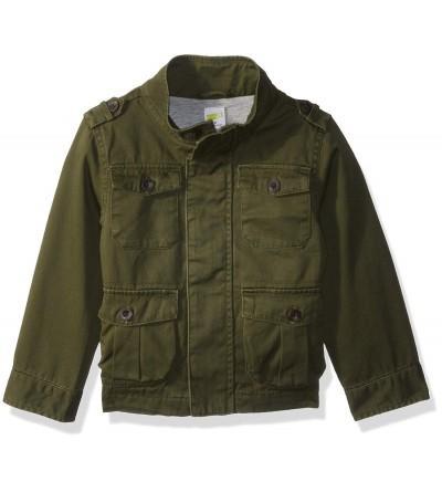 Crazy Toddler Fashion Millitary Jacket