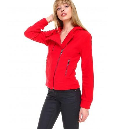 Melody Fleece Fashion Hoodie Pockets