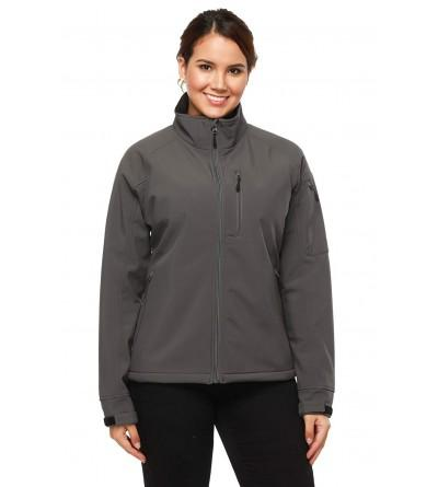 Softshell Outdoor Front Zip Jackets Resistant