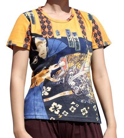 RaanPahMuang Japanese Woodblock Samurai T Shirt
