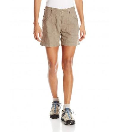 White Sierra Womens Canyon Shorts