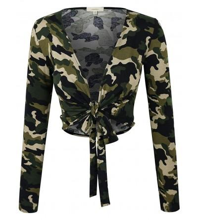 makeitmint Camouflage Cropped T Shirt YIL0025 CAMO MED