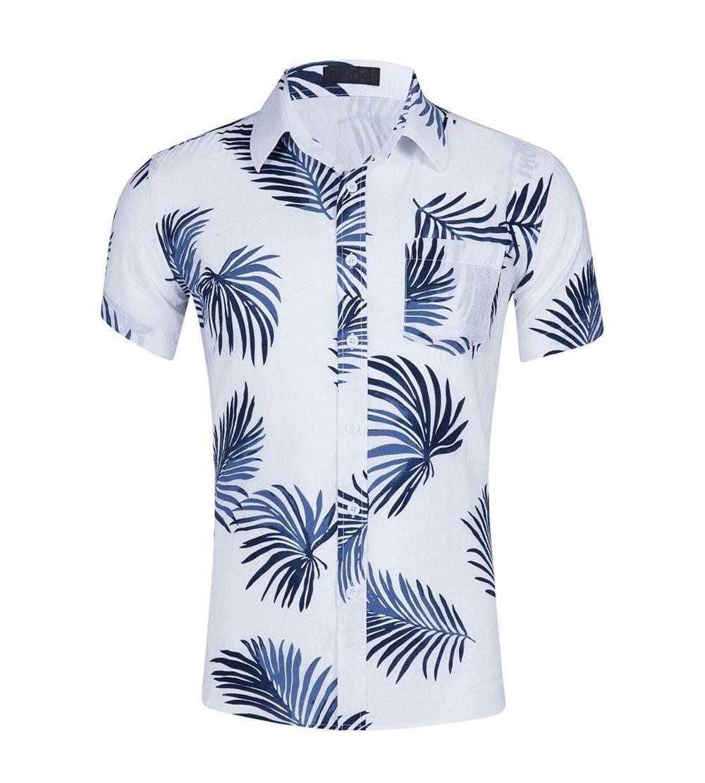CATERTO Tropical Sleeve Floral Hawaiian
