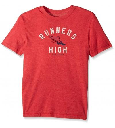 Life Good Runners Amrred T Shirt