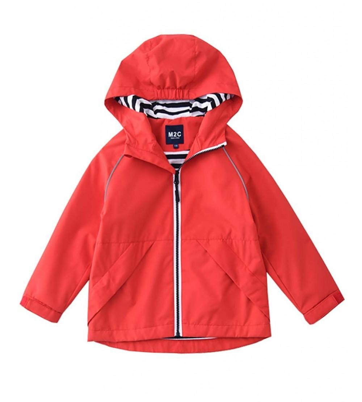 M2C Hooded Cotton Waterproof Jackets