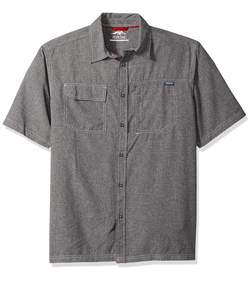 Pacific Trail Short Sleeve Crosshatch