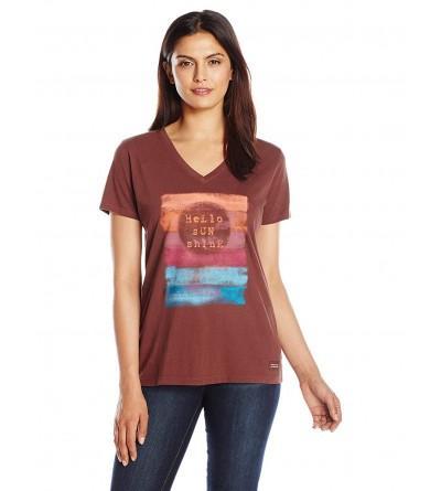 Life Womens Crusher Sunshine T Shirt