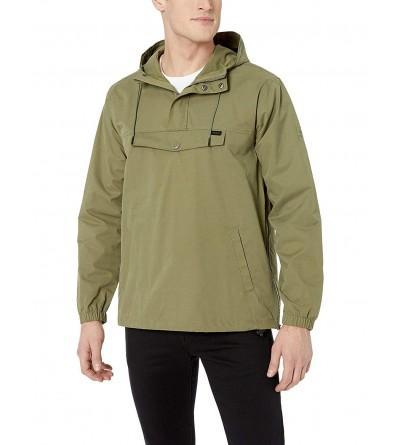RVCA Mens Point Anorak Jacket