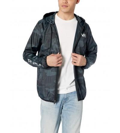 RVCA Mens Hexstop Windbreaker Jacket