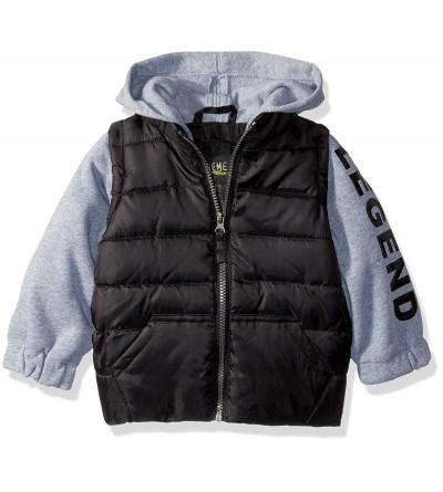 iXtreme Boys Puffer Vest Sleeves